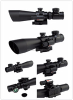 3-9x42 EG Hunting Riflescope Red Green Dot Illuminated Ar Gun Optic Telescopic Scope Riflescope With Tactical Red Laser Sight