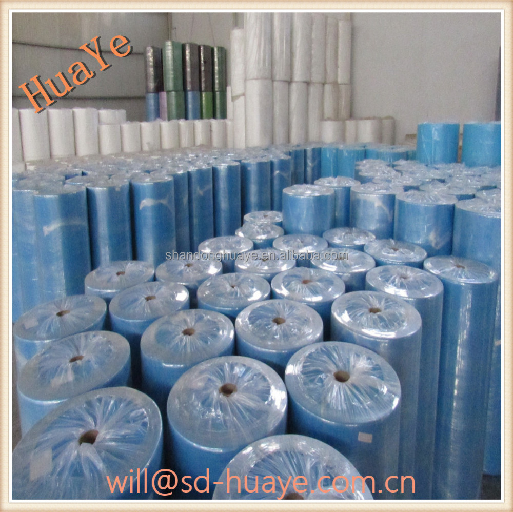 Huaye cross design spunbonded nonwoven factory