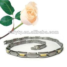 Fashion lady germanium power necklace and bracelet