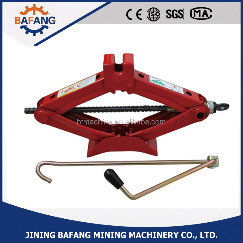Hot sales for hand operated scissor car jack
