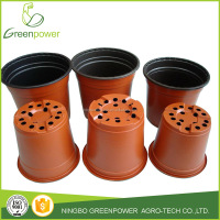 Double Color Flower Pots Plastic Pots
