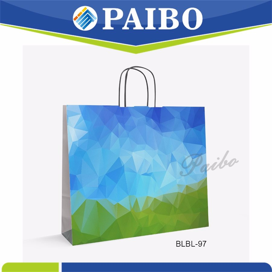 BLBL-97 New Design industrial shopping paper bags for gift