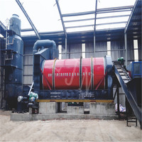Food waste to fertilizer drying recycler machine