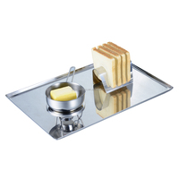 Stainless steel Serving Tray Food Tray