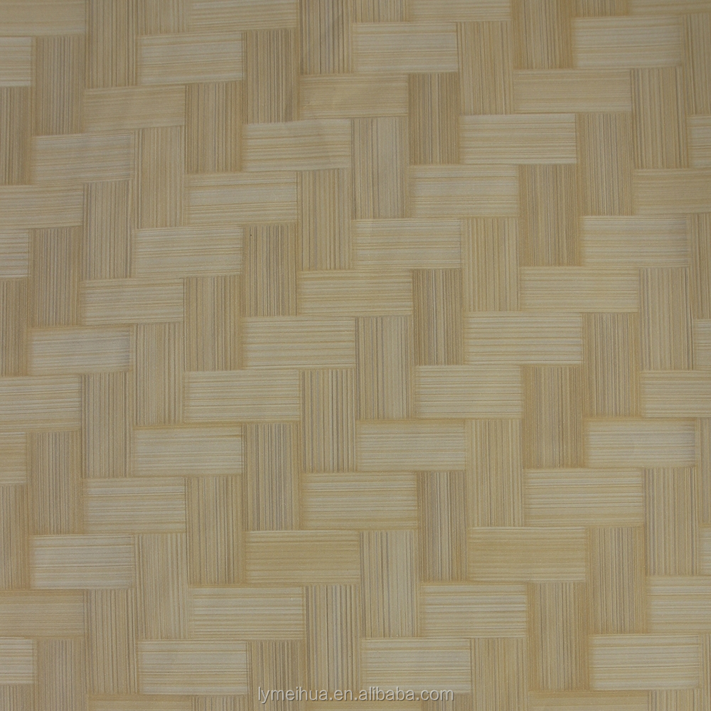 bamboo texture hot pressing melamine pre impregnated decorative paper