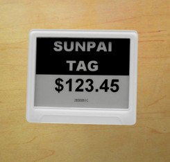 Supermarket digital lcd shelf label as per your requirement