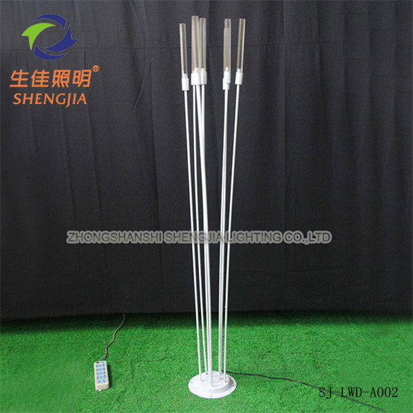 Modern innovative brand new products fiber optic Reed flower lamp