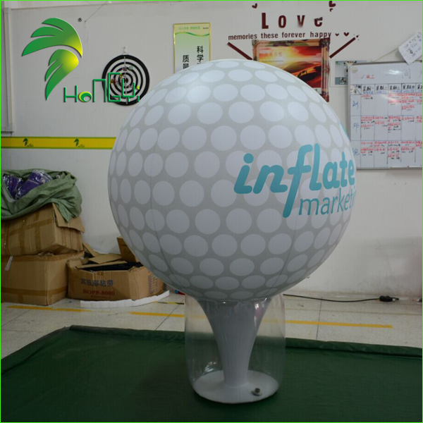Giant Advertising Large Air Golf Ball Model / Inflatable Golf Ball for Promotion Event