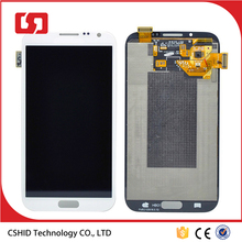 Black LCD Touch Digitizer Assembly for Samsung Note 2 N7100 LCD Screen