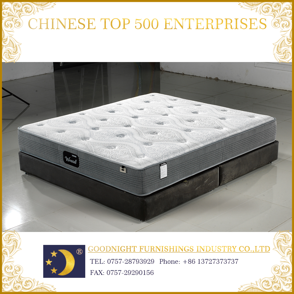Queen size mattress box spring and pocket spring mattress foam mattress