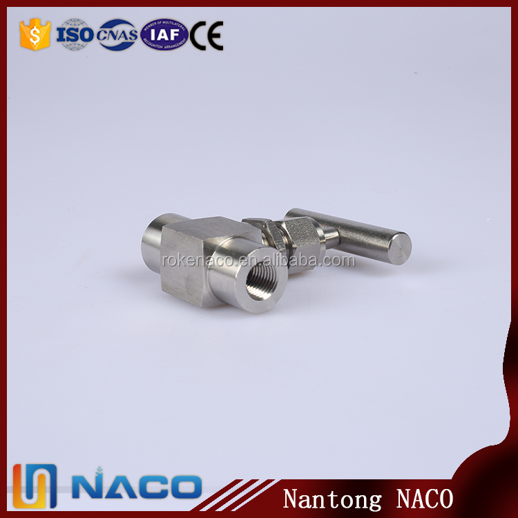 1/2npt Female Thread Ss316l 10000psi Oil And Gas Stainless Steel Needle Valve