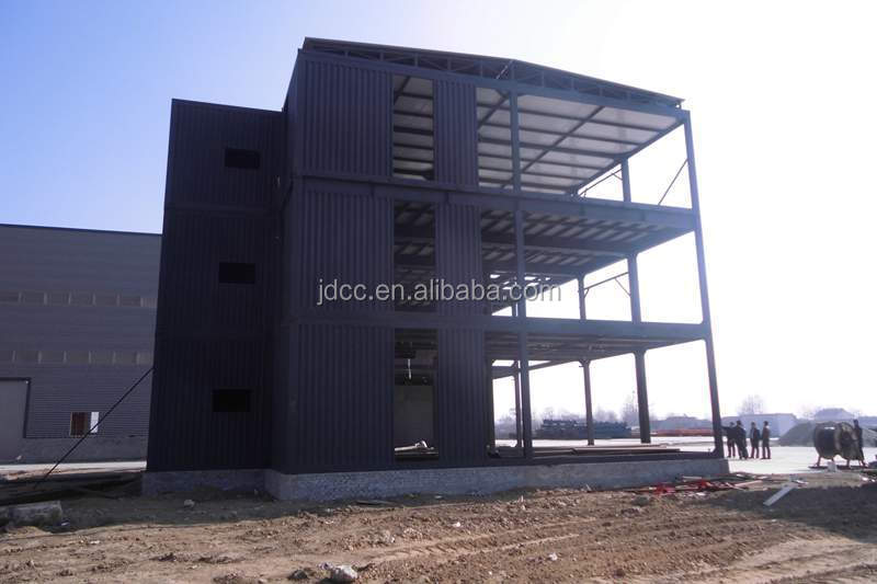 Low Cost and Fast Assembling Prefabricated Steel Structure Office