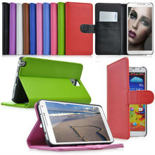 Stylish Flip Leather Wallet Pouch Case For Samsung Galaxy Note 3 III N9000