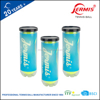 ITF standard pressurized super grade training tennis balls needle woolen felt