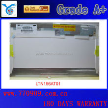 Hot sale 1366*768 Grade A+ LTN156AT01 15.6 cheap used laptop lcd screen 15.6