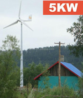 Cheap price whole unit 5kw wind energy also called electric generating windmills for sale