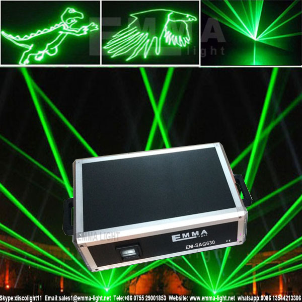 Most Creative Design 3D green laser light show