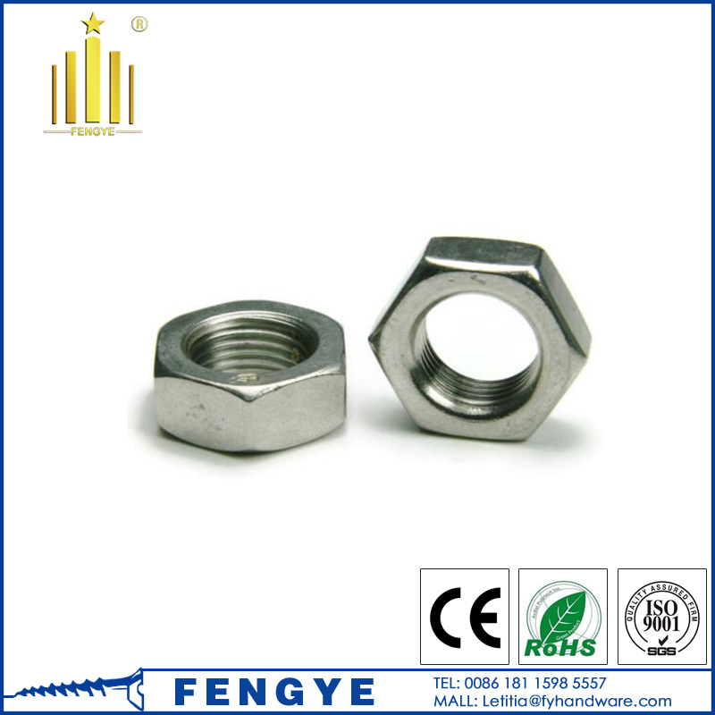 DIN439 hexagon head thin nuts M4 M5 M6 M8 <strong>M10</strong>