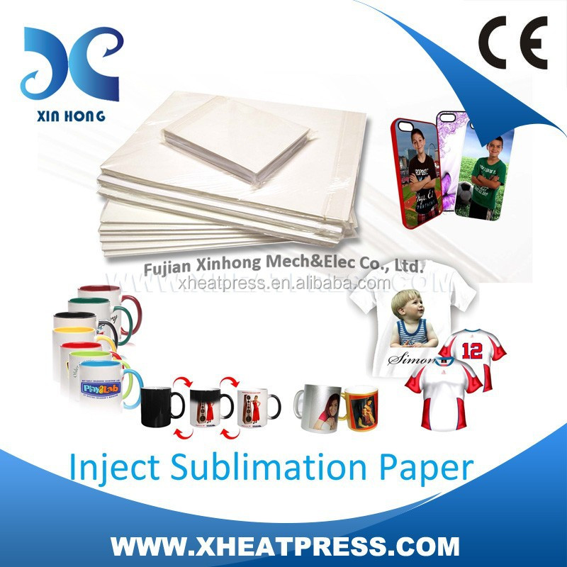 inkjet sublimation Heat transfer paper for textile