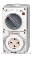 5 Round Pin Combo Switch & Socket Nadway supply
