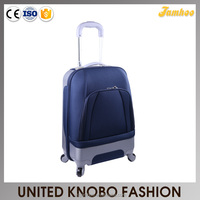 ABS And Polyester Combination Trolley Luggage