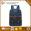 custom vintage canvas backpack laptop backpack