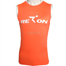 Men Running Swimming Diving Surf Shirt Rashguard Swim Vest