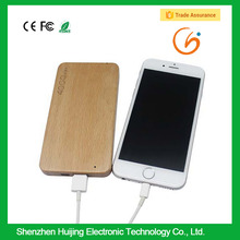 Mobile power supply powe bank 4000mAH Wood shell Port External Battery Pack Power Bank Backup Powers For Cellphone