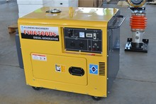 silent diesel generator 6.5kva, KAMA&HONDA engine, silent portable generator with cheap price, home and garden use, OEM