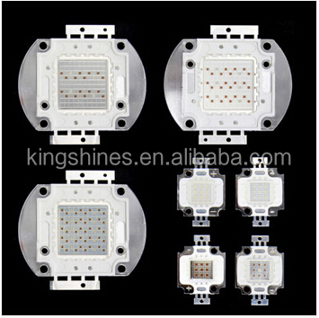 Powerful 10W integrated cob led grow light chip red 660nm ,blue 450-460nm Epileds chip, 2 years warranty