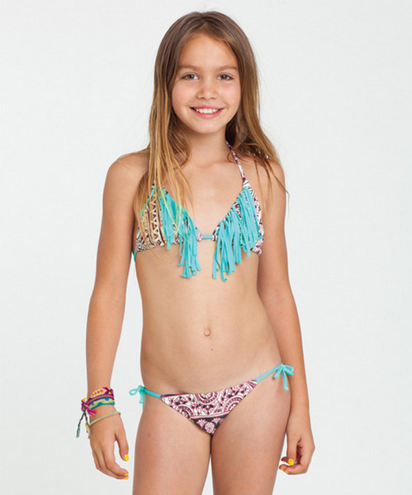 American children swimwear