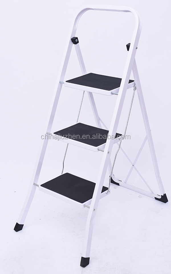 3 steps steel ladders for sale domestic folding portable stairs buy steel household household. Black Bedroom Furniture Sets. Home Design Ideas