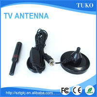 dvb-t car digital tv magnetic base antenna 25dbi active car tv antenna with SMA/IEC connector