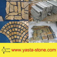 Wholesale Rusty Natural Slate Paving Stone
