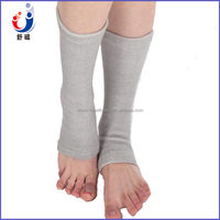 Hot new products for 2015 advanced bamboo charcoal sweat absorbent grey ankle support