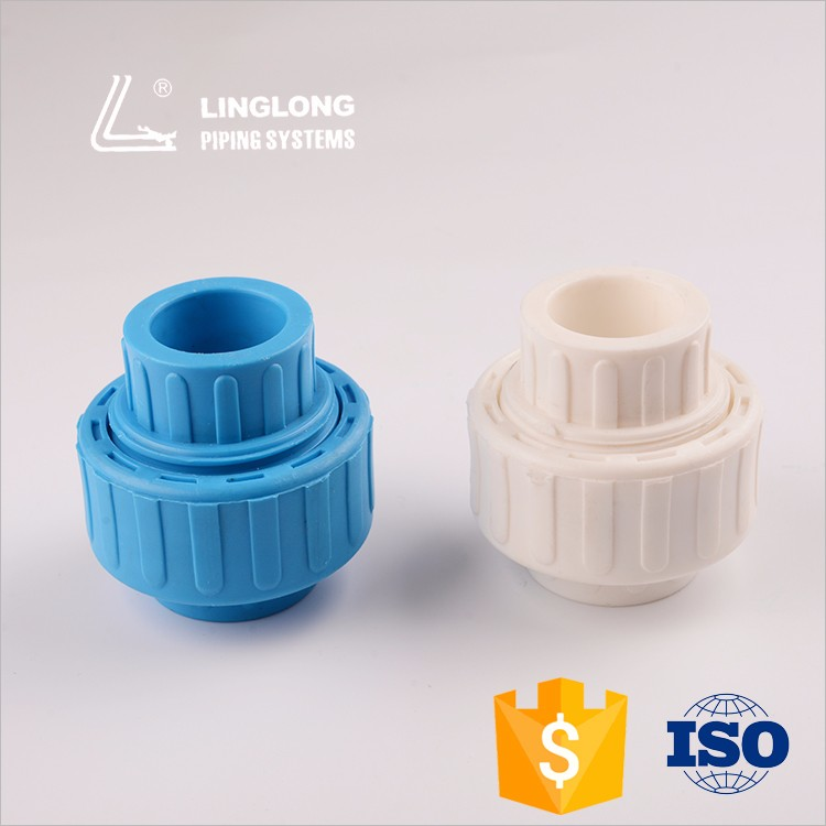 China manufacturer pipe fittings ppr union connector