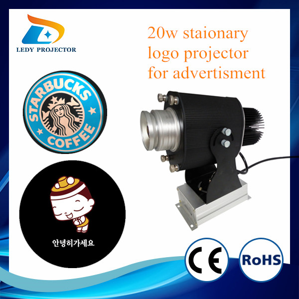 rotating projector lamp 3000 lumens project 30w 12m