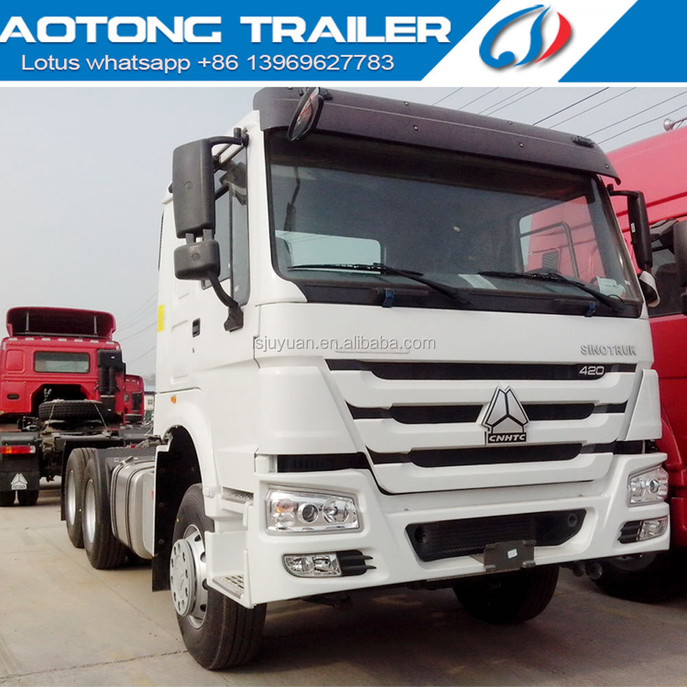 Sinotruk price in ethiopia HOWO A7 6x4 tractor truck for sale