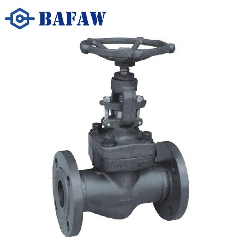 Professional manufacturers ASME standard cast carbon steel bellow seal globe valve with plug disc type
