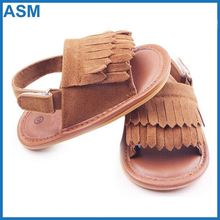 classic leather baby moccasins , handmade baby sandals , indoor flat sandals