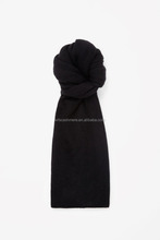 winter cashmere scarf solid color