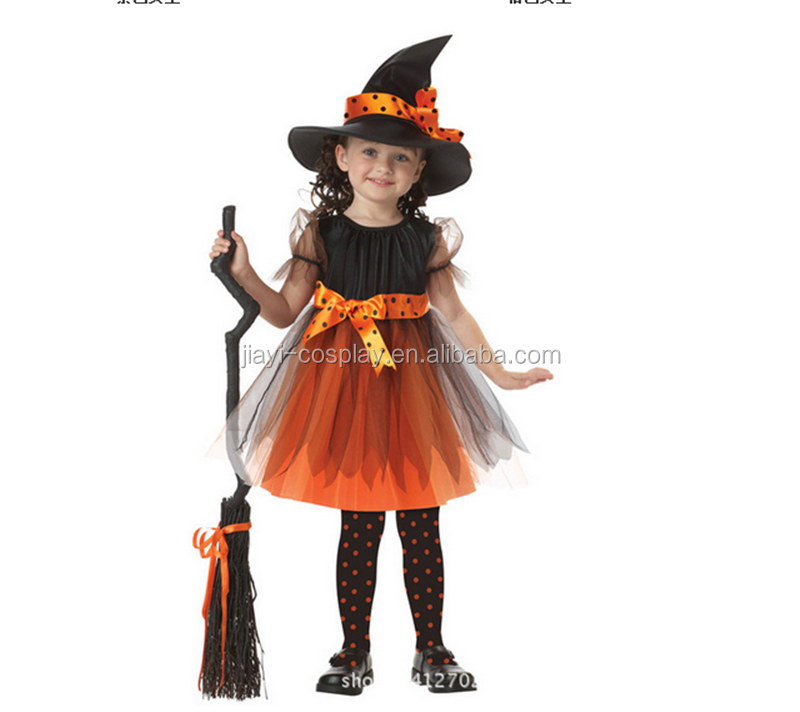 2017 new witch costume for girls