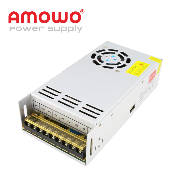 High Efficiency 350W 110V CCTV 24 Volt dc 5V Lighting LED Power Supply, 220V ac 12V 30a dc Power Supply