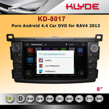 RDS Radio Car DVD Player 2 Din Car Radio With Navigation For RAV4 2013