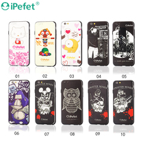 PC TPU Hybrid 3D UV Printing Cartoon Mobile Phone Case For iPhone 6