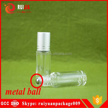 Free samples empty 10ml glass essential oil roller bottle