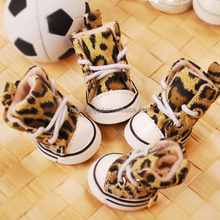Fashion pet leopard converse shoes, dogs accessories in China