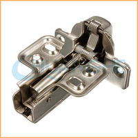 Stainless 95-degree cabinet hinge soft close glass door hinge