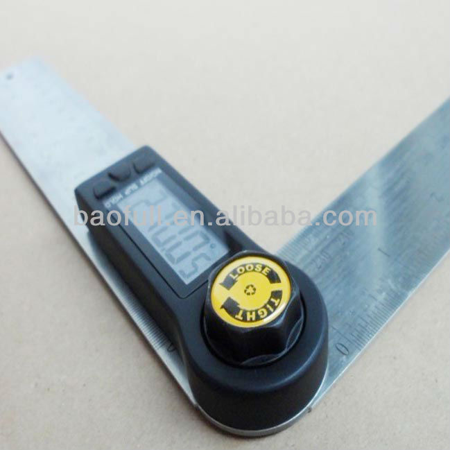 Portable Stainless Steel 360 degree Digital angle ruler