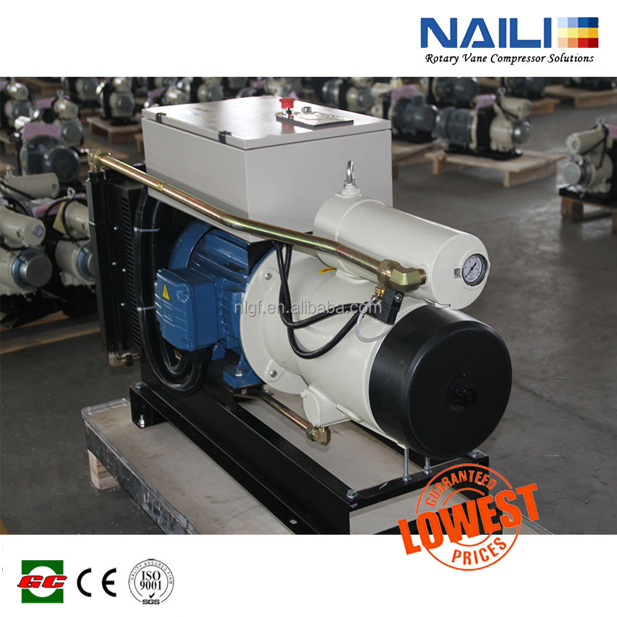 Naili Rotary Vane Air Compressor Vs Atlas Copco Portable